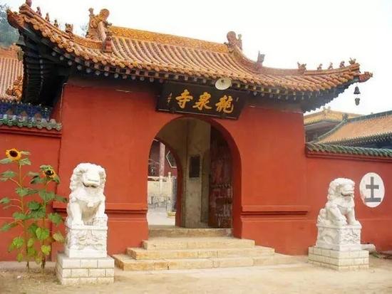 龙泉寺,图片源自网络