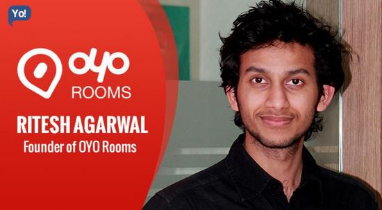创始人Ritesh Agarwal,图源:网络