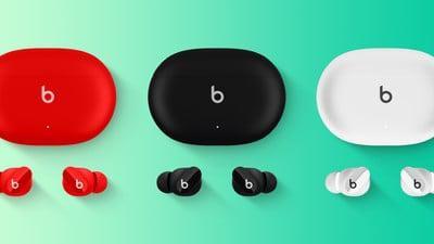 蘋果Beats Studio Buds真無線耳機曝光:設計小巧,無