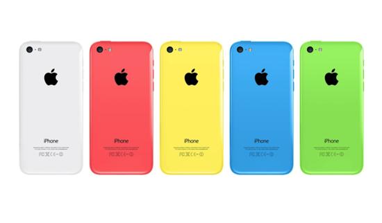 ▲ iPhone 5C。