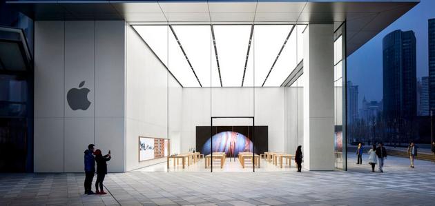 ▲ 青島萬象城 Apple Store,圖片來自蘋果官網