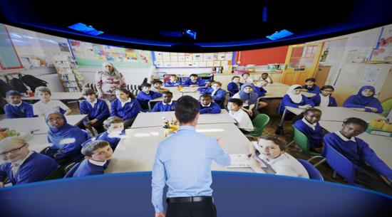 """联想构建""""未来教室"""":利用5G将大城市教学情景"""