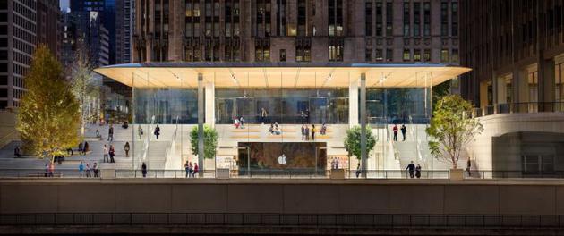 受疫情影响苹果再关闭逾20家位于美国Apple Store